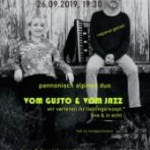 Verena Göltl - Christian Wegscheider - Vom Gusto und vom Jazz by Steve Haider